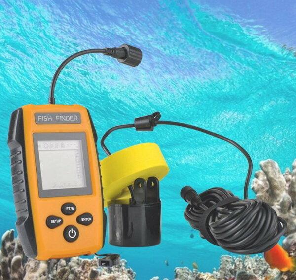 3699shop:有線探魚器探測器釣魚聲納超音波魚群探測器