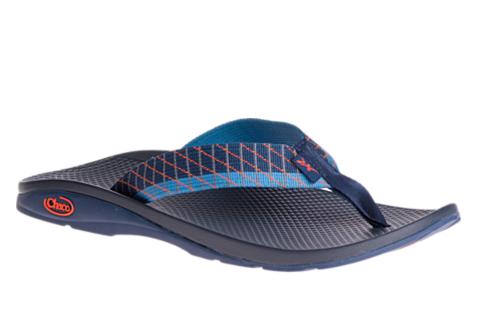 ├登山樂┤美國Chaco 男戶外休閒涼鞋/夾腳拖鞋-沙灘款 滑行藍 #CH-ETM01HD26