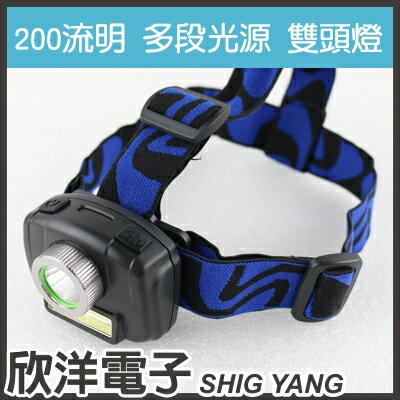 ※欣洋電子※EDSION愛迪生LED+COB200流明頭燈(EDS-K1115)