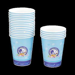 菲力家族環保紙咖啡杯270cc