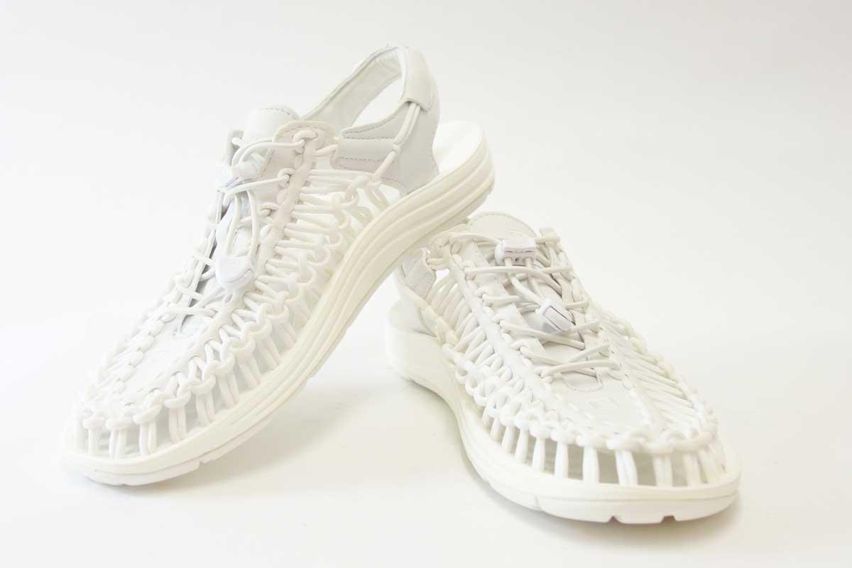 ├登山樂┤美國KEEN UNEEK 男款拉繩編織涼鞋 星白 #1014098