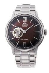 【時光鐘錶】東方錶 ORIENT 經典鏤空 復古機械錶 (RA-AG0027Y) 漸層棕/40.5 mm