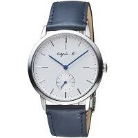 agnès b.眼鏡推薦到agnes b.法式簡約小秒針時尚腕錶  VD78-KLB0B BN4001X1就在寶時鐘錶推薦agnès b.眼鏡