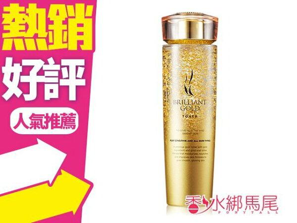 韓國AHC24K黃金蝸牛玻尿酸保濕化妝水140ml高保濕補水◐香水綁馬尾◐