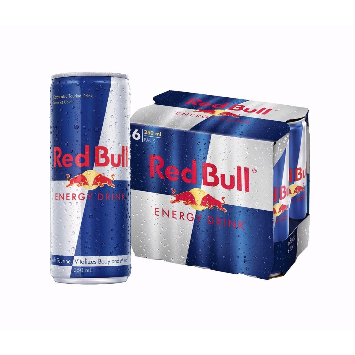 騎跑泳者 - Red Bull 紅牛能量飲料(250ml*3入) 提神飲料/提神飲品