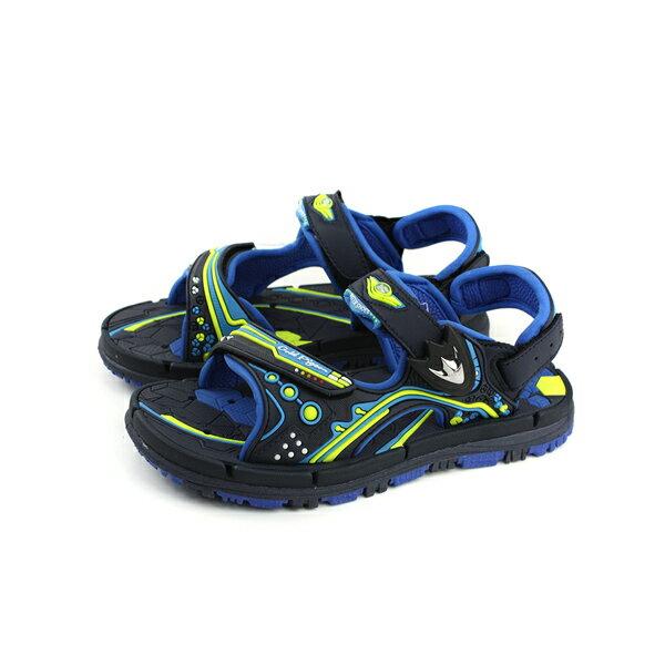 GP(Gold.Pigon)涼鞋防水雨天藍色大童童鞋G8671B-23no934