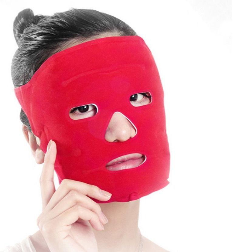 冰敷面罩睡眠面膜熱敷臉部水腫冷敷眼罩冰袋