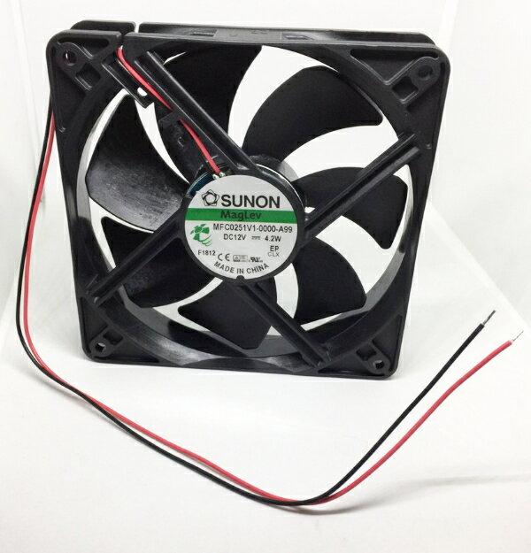 MFC0251V1-0000-A99  / DC12V /4.2W SUNON帶線方型風扇(含稅)【佑齊企業 iCmore】