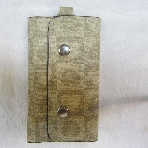 ~雪黛屋~SANDIA-POLO 專櫃品牌鑰匙包 進口防水防刮皮革6支鑰匙容量設計70-SA1301 愛心