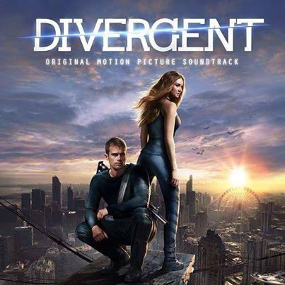 分歧者 OST 電影原聲帶 CD Divergent ^(音樂影片購^)