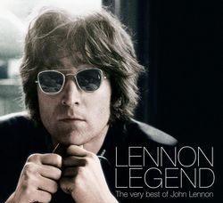 約翰藍儂 傳奇 CD John Lennon Lennon Legend ^(音樂影片購^