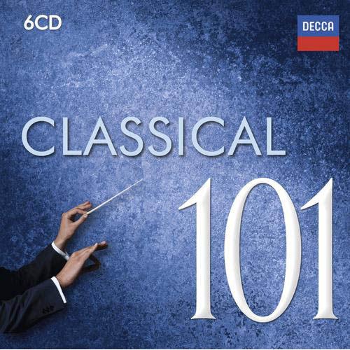 古典名曲101 CD 6片裝 Classical 101 馬利納蘇莎蘭阿胥肯納吉黎奇希巴女王駕臨(音樂影片購)