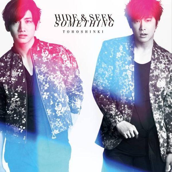 東方神起 Hide   Seek  Something CD ^(音樂影片購^)
