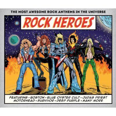 超人搖滾 CD Various Artists Rock Heroes The Guess