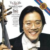 馬友友 巴哈:為大鍵琴與大提琴所寫的奏鳴曲 CD Yo-Yo Ma (音樂影片購)