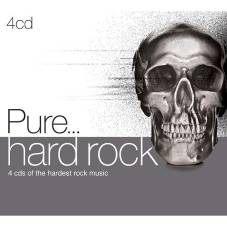 純硬式搖滾 CD 4片裝 Pure... Hard Rock 搖滾 金屬樂團 80 90年