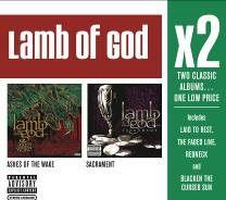 上帝羔羊樂團 夜的灰燼 金屬聖典 CD 巨星雙碟中價系列 Redneck Blacken The Cursed Sun (音樂影片購)