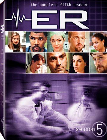 影集 急診室的春天 第五季 DVD ER SEASON 5 George Clooney
