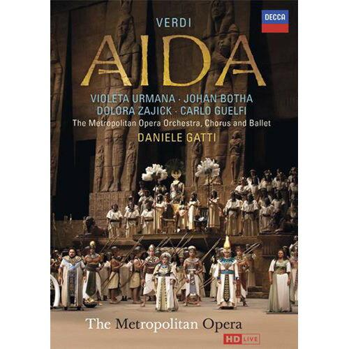 威爾第 阿依達 歌劇DVD 威爾地 阿伊達 Verdi Aida 烏爾曼娜札姬克蓋提指揮大都會歌劇院(音樂影片購)