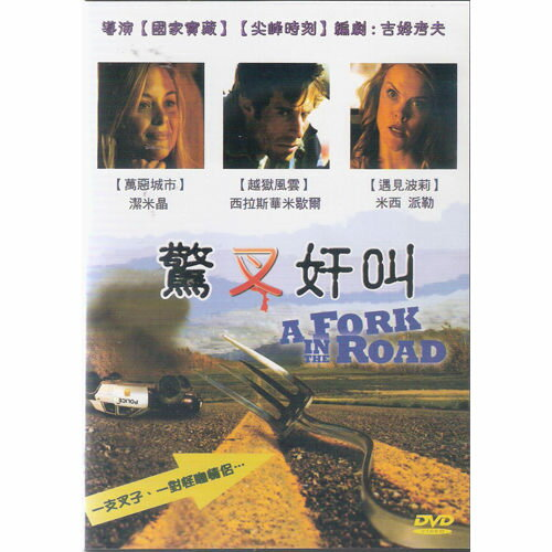 驚叉奸叫 DVD A Fork In The Road 萬惡城市Jaime King越獄風