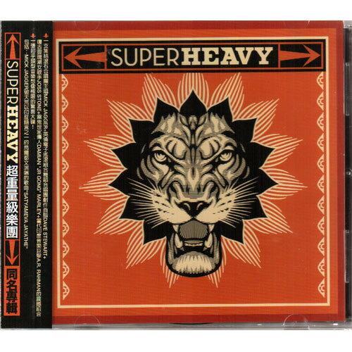 超重量級樂團 同名專輯CD SuperHeavy 滾石合唱團主唱+喬斯史東+A.R. Rahman等 (音樂影片購)