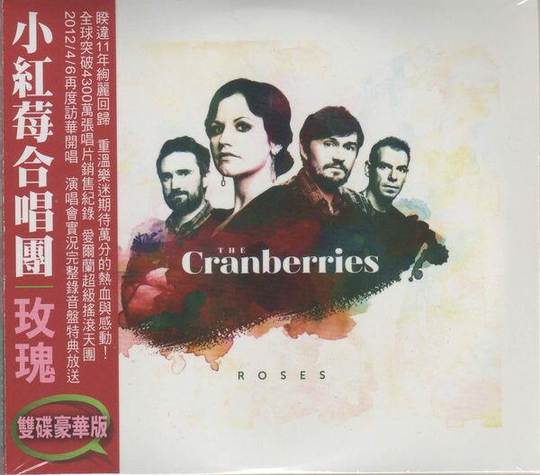小紅莓合唱團 玫瑰 CD 雙碟豪華版 The Cranberries Roses 馬德里現