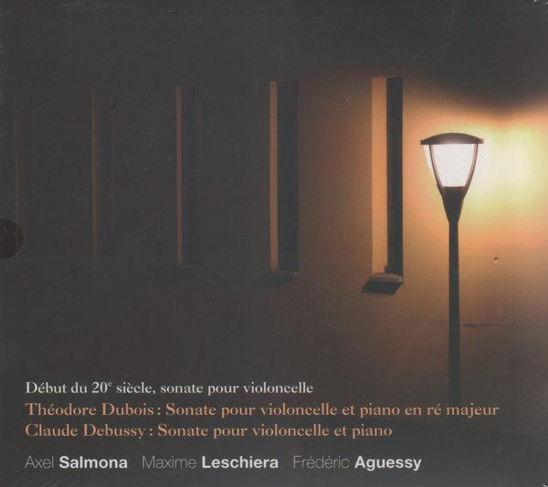 杜布瓦 德布西 大提琴奏鳴曲 CD 大提琴 阿西 沙漠納 瑪西雷謝拉 鋼琴 斐德列阿格西 (音樂影片購)