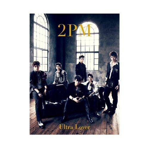 2PM Ultra Lover 第三張日文單曲CD附DVD 初回限定盤 韓國野獸派團體 I\