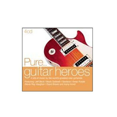 純搖滾 吉他英雄榜CD ^(4片裝^) Pure Guitar Heroes 天蠍合唱團黑
