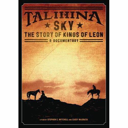 塔莉西娜的天空 里昂王族 樂團紀錄片 DVD Talihina Sky The Story of Kings Of Leon (音樂影片購)