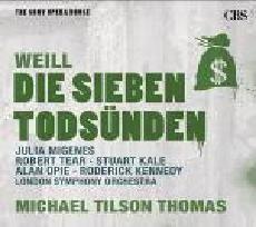 歌劇殿堂 80 泰懷爾:七大罪 CD V.A. Weill: The Seven Dead