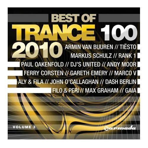 音浪百分百2010年終總冠軍CD 4片裝  Trance 100 ~ 2010 Best