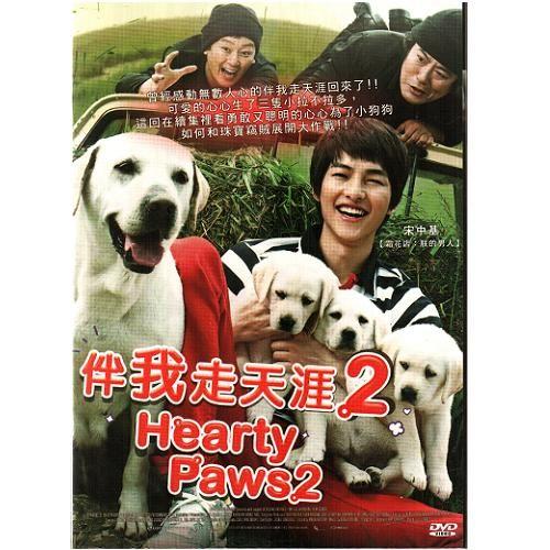 伴我走天涯2 DVD Hearty Paw 2 宋中基張翰阿達成東日金正泰 拉不拉多導盲犬溫馨感人(音樂影片購)