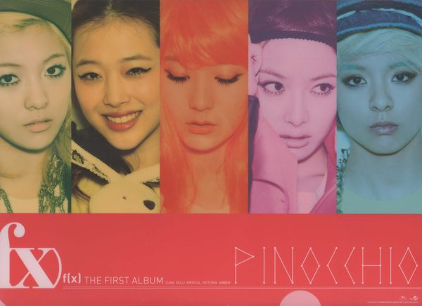 f x  資料夾 THE FIRST ALBUM PINOCCHIO 影音周邊 皮諾丘