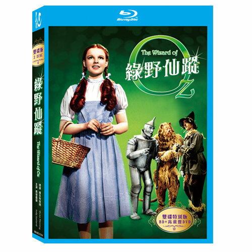 綠野仙蹤 雙碟特別版 藍光BD附DVD The Wizard of Oz 桃樂絲機器人稻草人獅子經典故事 (音樂影片購)