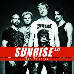 日出大道樂團 非時尚 專輯CD Sunrise Avenue Out Of Style 芬蘭多白金新生代樂團 (音樂影片購)