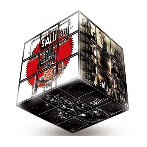 奪魂鋸3D Saw 3D CUBE 魔術方塊 六面體 每面圖案各不同 ^(音樂影片購^)
