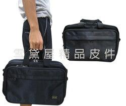 ~雪黛屋~YESON 文件包小容量台灣製造二層主袋可A4資料夾底部加大容量手提肩背斜側背高單數防水尼龍布Y58305