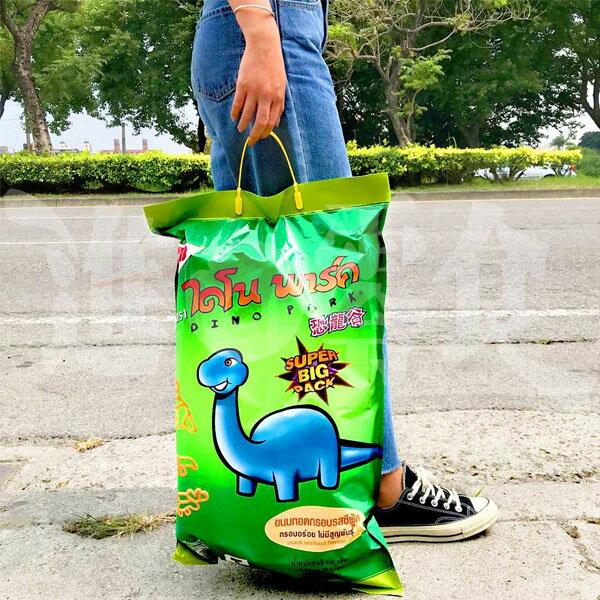泰國侏羅記動物造型餅乾大恐龍造型海鮮風味超大袋【特價】§異國精品§
