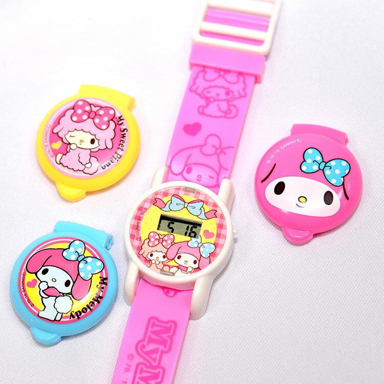 My Melody 美樂蒂 兒童電子手錶 日本帶回正版