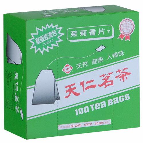 天仁茉莉香片經濟包2g*100包/盒【愛買】
