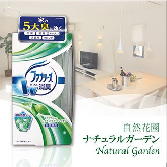 除臭芳香劑【日本製】直立的 Febreze 房間 自然花園 *1入 P&G Japan 寶僑