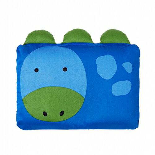 ★衛立兒生活館★Milo & Gabby 動物好朋友-嬰兒枕頭套(DYLAN恐龍)