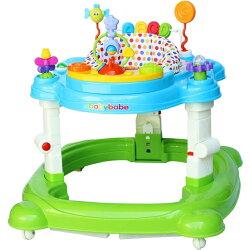 BabyBabe四合一嬰幼兒學步車~可當搖馬~是學步車也是彈跳椅