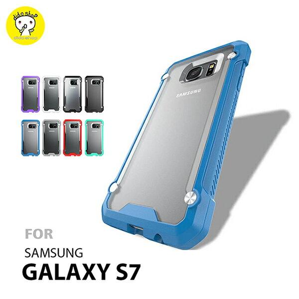 SAMSUNG S7 甲蟲殼 透明手機殼 手機保護殼 ^(WS005^)~ ~