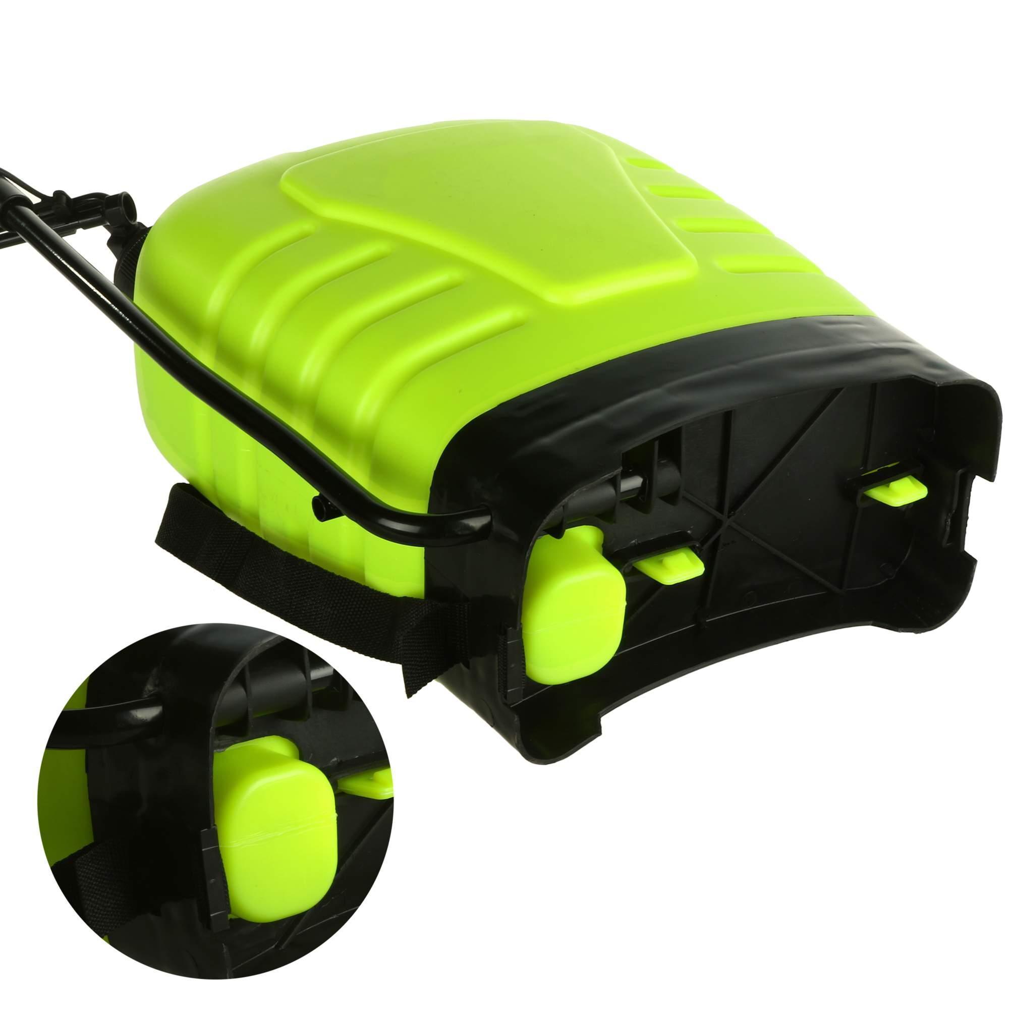 Portable Pressure Sprayer Knapsack 16L Garden Yard Weed Chemical 4
