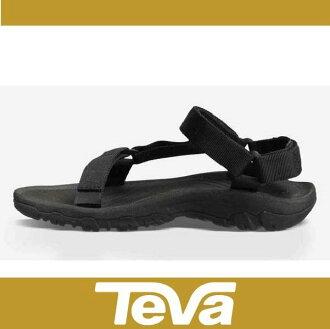 TEVA 男 經典緹花織帶涼鞋 Hurricane XLT(黑-TV4156BLK)