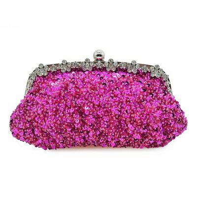 晚宴包繡珠手拿包-時尚精美別緻亮麗女包包4色73su27【獨家進口】【米蘭精品】