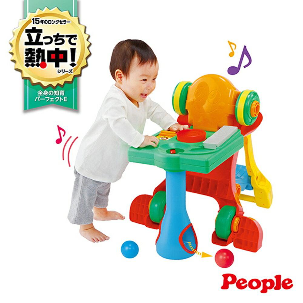 【淘氣寶寶】日本 People 新5合1變身學步車(8個月~4歲內)