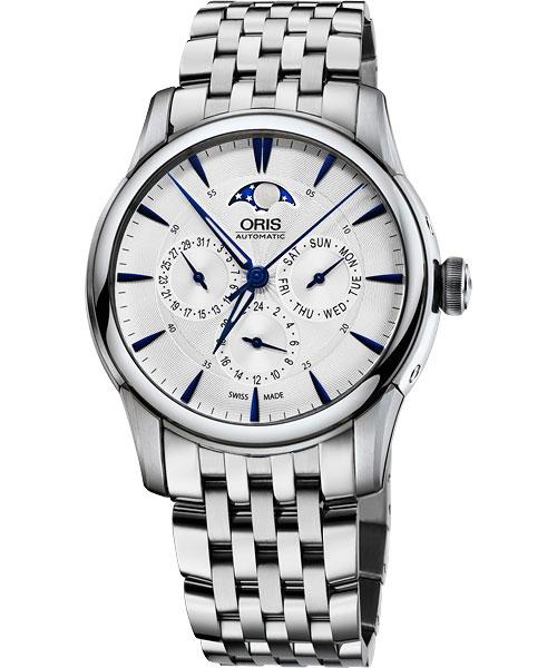 ORIS 豪利時0178177034031-0782177 多功能月相機械腕錶/白面40mm
